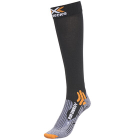 X-Socks Run Energizer Long Løbesokker sort